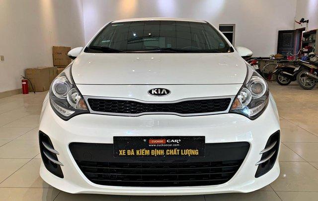 Cần bán xe Kia Rio 1.4AT đời 2015, màu trắng4