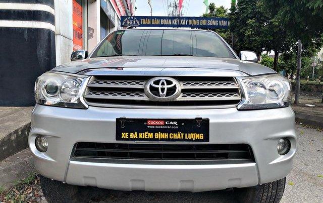 Cần bán xe Toyota Fortuner 2.7AT 2011, màu bạc7