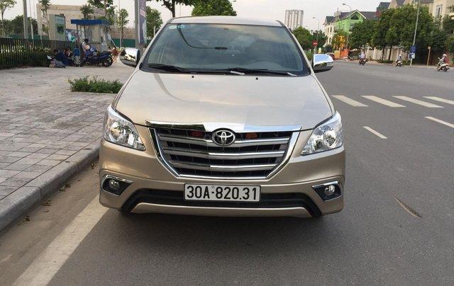 Chính chủ tôi cần bán Toyota Innova 2.0E số sàn0