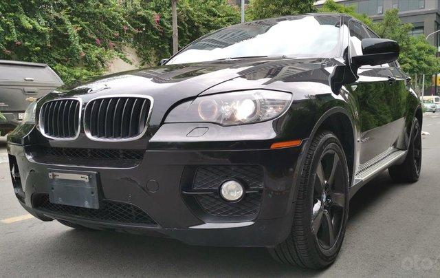 BMW X6 Xdrive 35i 2010, màu đen, nhập khẩu2