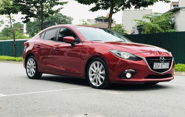 Bán Mazda 3 2.0 đời 2015, 1 chủ biển HN, màu đỏ xe đẹp xuất sắc5