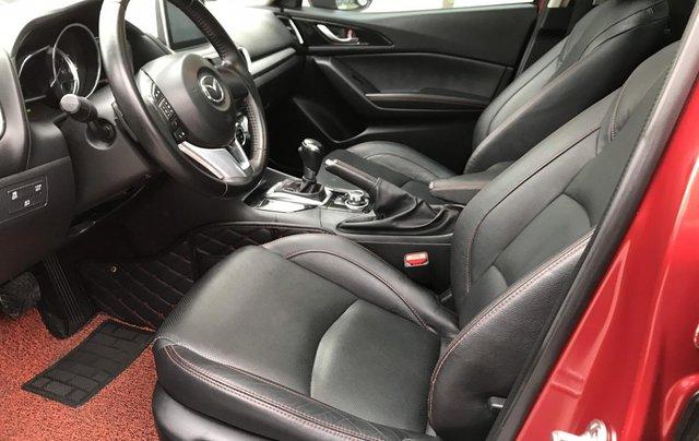 Bán Mazda 3 2.0 đời 2015, 1 chủ biển HN, màu đỏ xe đẹp xuất sắc8