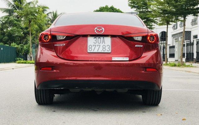 Bán Mazda 3 2.0 đời 2015, 1 chủ biển HN, màu đỏ xe đẹp xuất sắc3