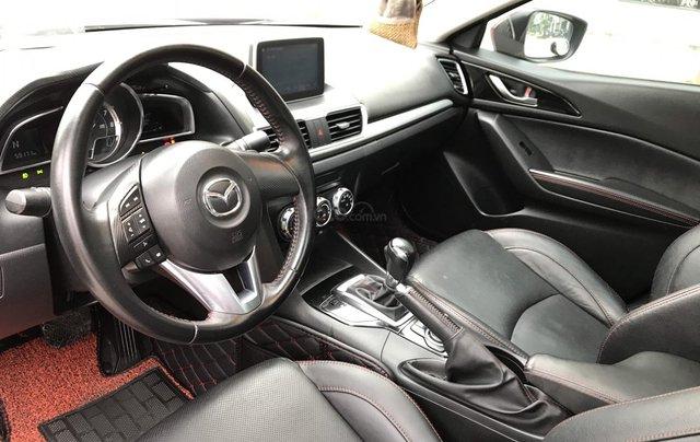 Bán Mazda 3 2.0 đời 2015, 1 chủ biển HN, màu đỏ xe đẹp xuất sắc9