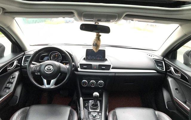 Bán Mazda 3 2.0 đời 2015, 1 chủ biển HN, màu đỏ xe đẹp xuất sắc10