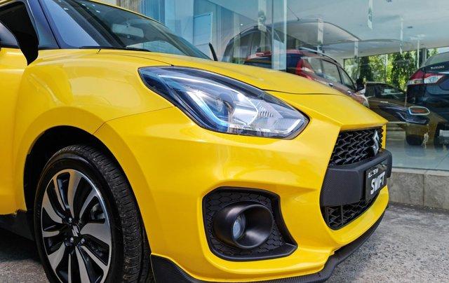 Bán xe hơi Suzuki Swift 1.2 CVT màu vàng nhập khẩu Thái Lan4