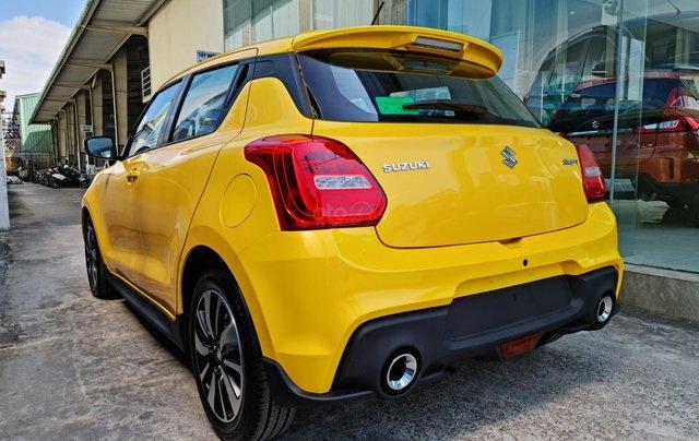 Bán xe hơi Suzuki Swift 1.2 CVT màu vàng nhập khẩu Thái Lan6