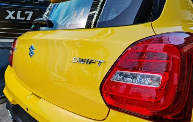 Bán xe hơi Suzuki Swift 1.2 CVT màu vàng nhập khẩu Thái Lan5