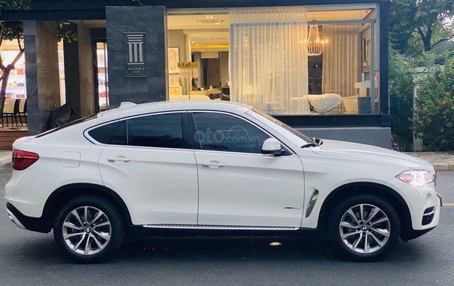 Bán xe BMW X6 đăng ký lần đầu 2017, màu trắng ít sử dụng giá chỉ 2 tỷ 679 triệu đồng4
