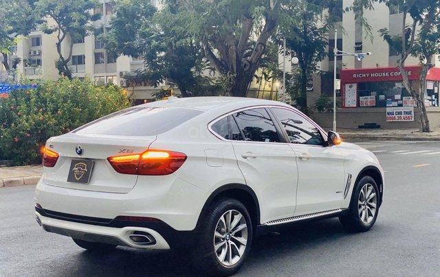 Bán xe BMW X6 đăng ký lần đầu 2017, màu trắng ít sử dụng giá chỉ 2 tỷ 679 triệu đồng5