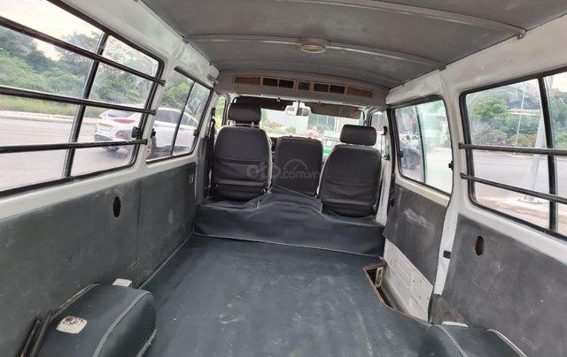 Toyota nhập khẩu sx 1995 máy 2.0 xe 4 cửa chạy 110.000km 9L/100km nội thất ghi máy xăng. Đăng kí 3 chỗ số tay, màu trắng4