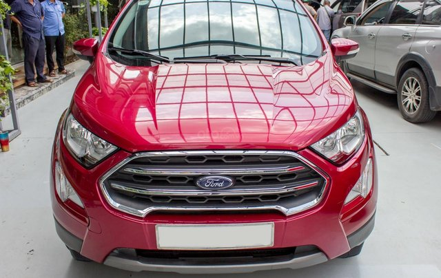 Ford Ecosport Titanium 1.5 AT sx 2018, mẫu mới, xe gia đình sử dụng chạy 30.000km, lên màn android. Có trả góp0