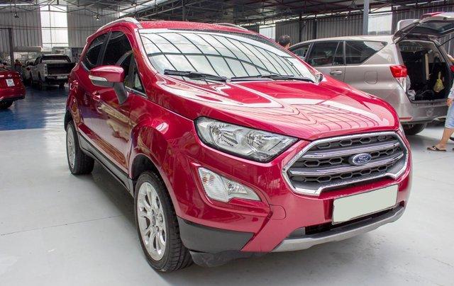 Ford Ecosport Titanium 1.5 AT sx 2018, mẫu mới, xe gia đình sử dụng chạy 30.000km, lên màn android. Có trả góp3
