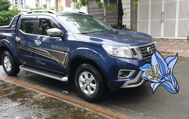 Bán Nissan Navara EL Premium 1 cầu dầu 2.5 tự động, đời 2019 màu xanh mới 98%1