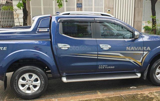 Bán Nissan Navara EL Premium 1 cầu dầu 2.5 tự động, đời 2019 màu xanh mới 98%5