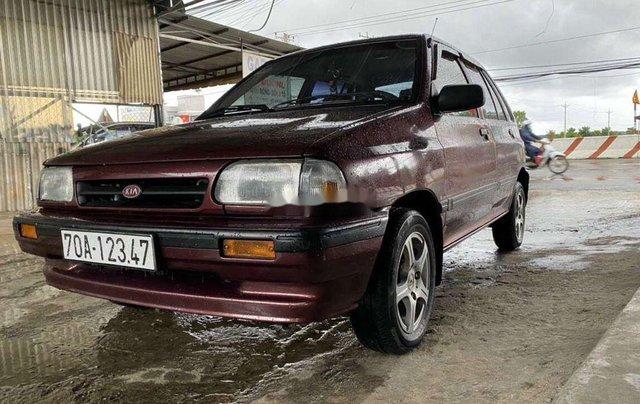 Cần bán lại xe Kia CD5 đời 2002, màu đỏ, nhập khẩu nguyên chiếc0