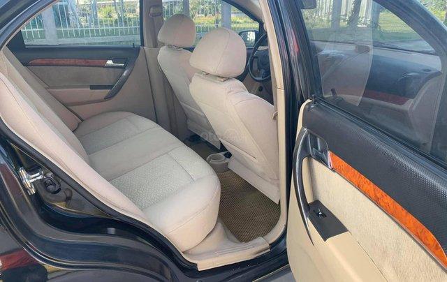 Bán xe Daewoo Gentra đời 2009, màu đen6