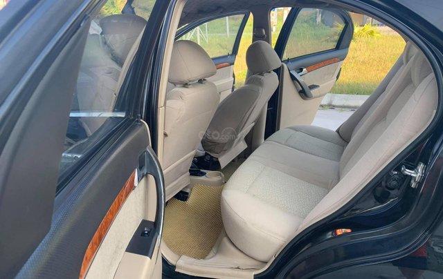 Bán xe Daewoo Gentra đời 2009, màu đen7