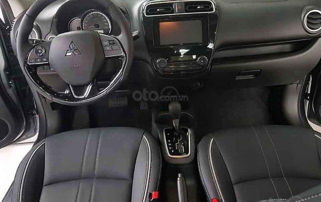 Bán xe Mitsubishi Attrage 1.2 CVT sản xuất năm 2020, màu xám, xe nhập, giá tốt2