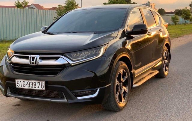 Hot - Honda CRV 1.5 Turbo bản L full option màu đen2