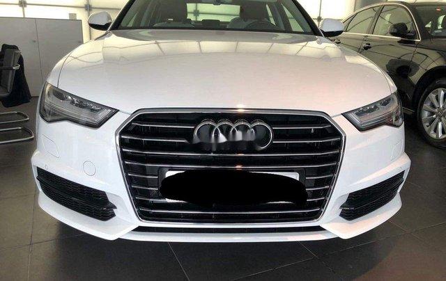 Bán Audi A6 đời 2017, màu trắng còn mới1