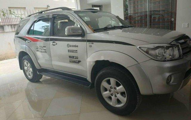 Bán Toyota Fortuner đời 2009, màu trắng, nhập khẩu nguyên chiếc còn mới0