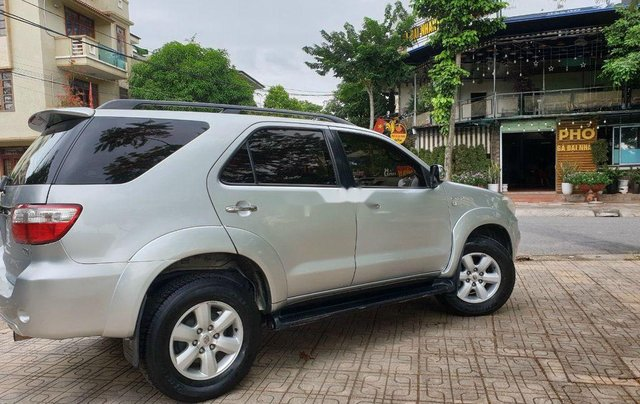 Bán Toyota Fortuner đời 2010, màu bạc, số tự động, giá chỉ 450 triệu0