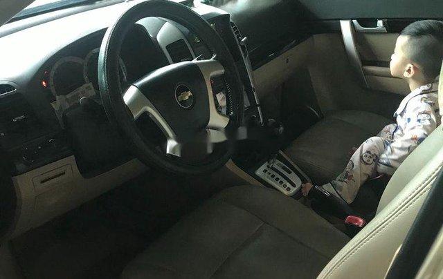 Cần bán gấp Chevrolet Captiva sản xuất 2008, màu ghi vàng1