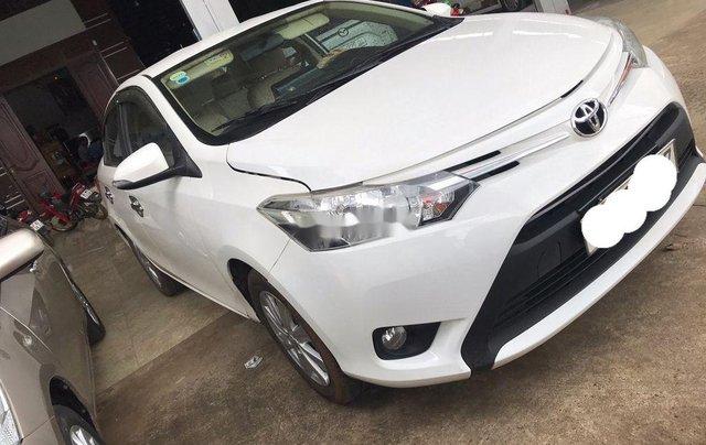 Bán Toyota Vios đời 2018, màu trắng, số sàn, giá tốt1