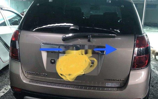 Cần bán gấp Chevrolet Captiva sản xuất 2008, màu ghi vàng5
