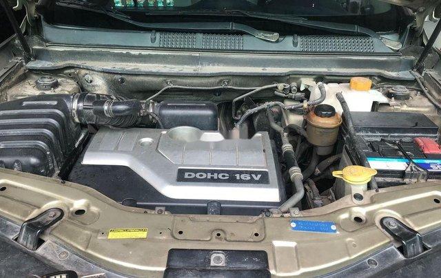 Cần bán gấp Chevrolet Captiva sản xuất 2008, màu ghi vàng4
