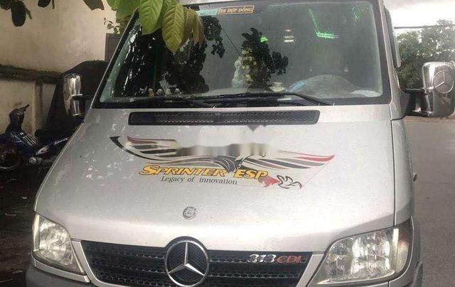 Cần bán lại xe Mercedes Sprinter sản xuất 2008, màu bạc, 220 triệu0