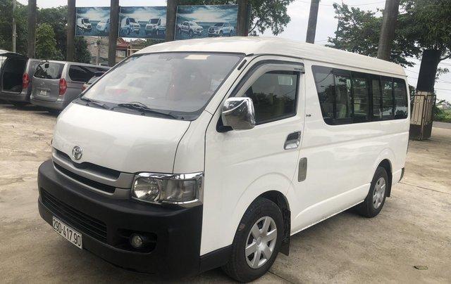 Bán Toyota Hiace tải Van 6 chỗ, đời 2009, máy dầu, biển Hà Nội, tên tư nhân1