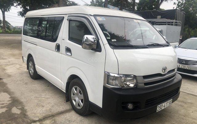 Bán Toyota Hiace tải Van 6 chỗ, đời 2009, máy dầu, biển Hà Nội, tên tư nhân2