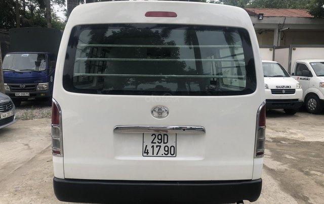 Bán Toyota Hiace tải Van 6 chỗ, đời 2009, máy dầu, biển Hà Nội, tên tư nhân3