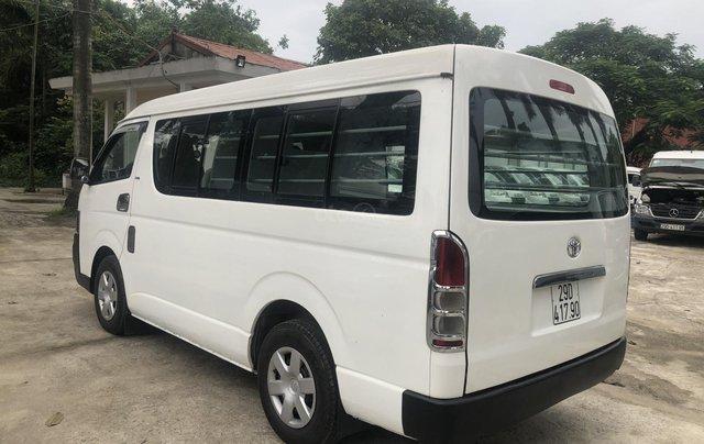 Bán Toyota Hiace tải Van 6 chỗ, đời 2009, máy dầu, biển Hà Nội, tên tư nhân5