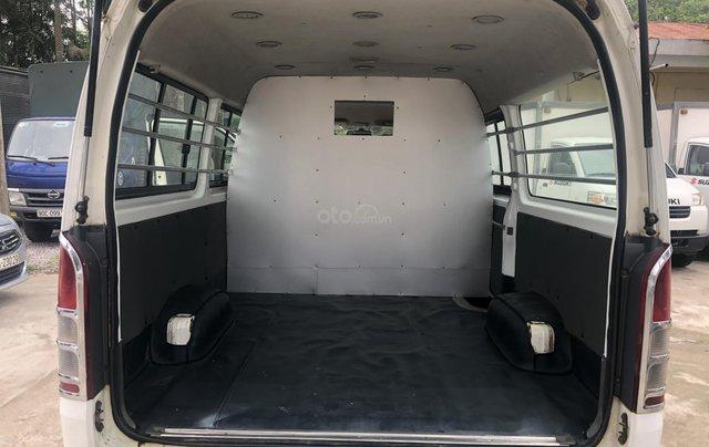 Bán Toyota Hiace tải Van 6 chỗ, đời 2009, máy dầu, biển Hà Nội, tên tư nhân9
