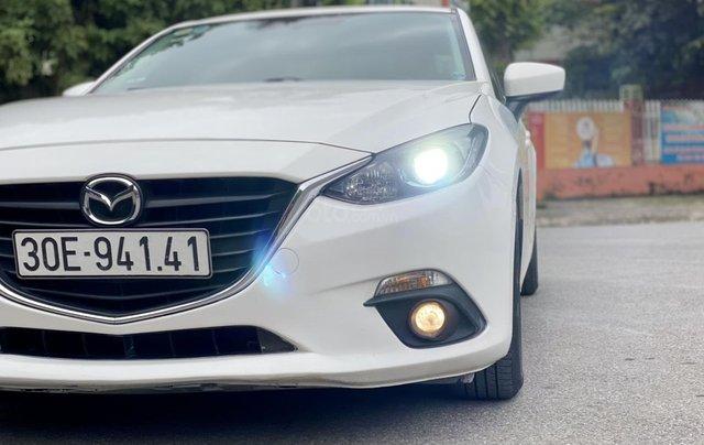 Bán Mazda 3 sedan 1.5AT sx 2016 xe đẹp, biển HN chủ giữ gìn0