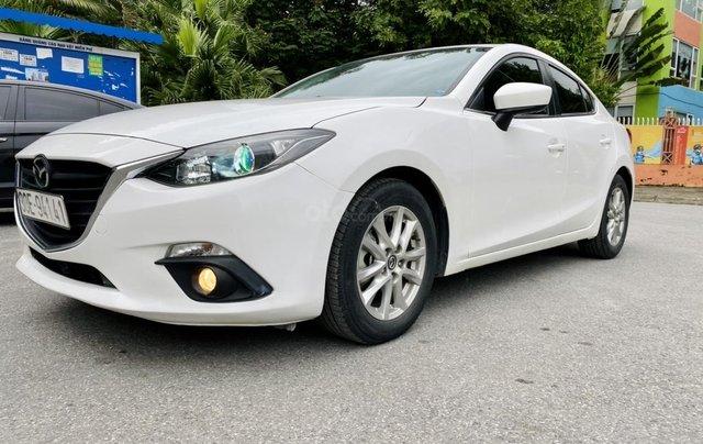 Bán Mazda 3 sedan 1.5AT sx 2016 xe đẹp, biển HN chủ giữ gìn2