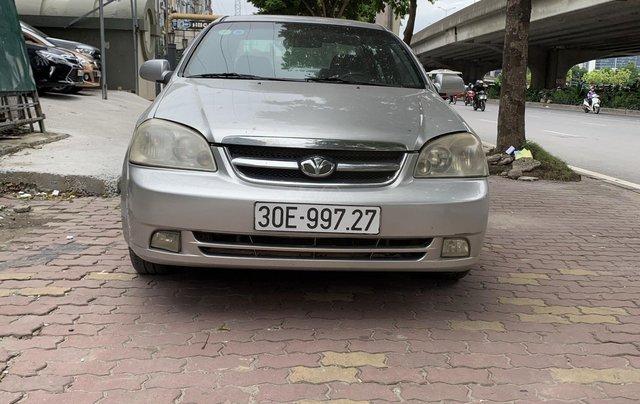 Cần bán gấp Daewoo Lacetti năm 2009, màu bạc nhập khẩu nguyên chiếc, giá chỉ 145 triệu đồng1