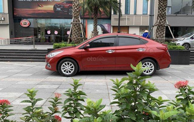 Bán xe Hyundai Accent đời 2018, màu đỏ, xe gia đình, giá chỉ 425 triệu đồng0