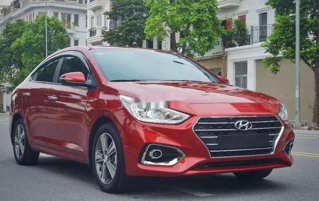 Bán xe Hyundai Accent năm 2019, màu đỏ1