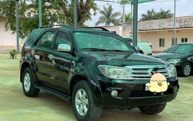Bán Toyota Fortuner đời 2010, màu đen, nhập khẩu 2