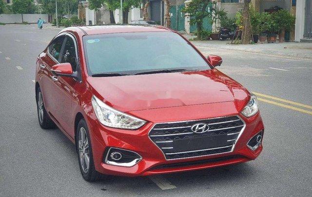 Bán xe Hyundai Accent năm 2019, màu đỏ3