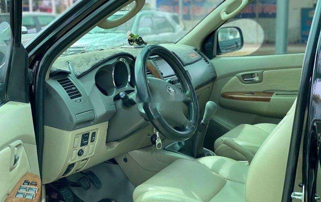 Bán Toyota Fortuner đời 2010, màu đen, nhập khẩu 4