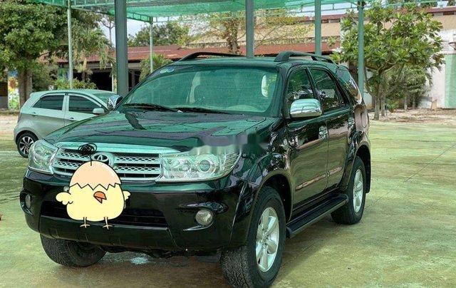 Bán Toyota Fortuner đời 2010, màu đen, nhập khẩu 1