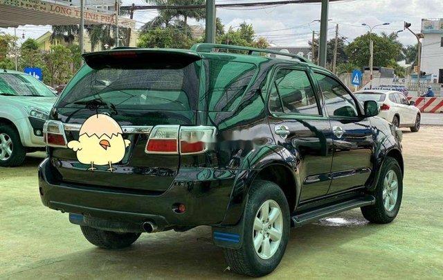Bán Toyota Fortuner đời 2010, màu đen, nhập khẩu 0
