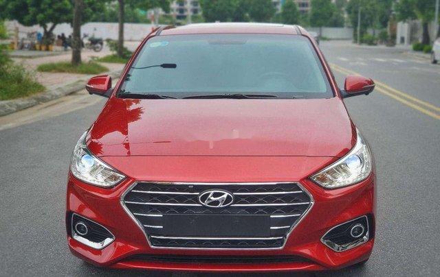 Bán xe Hyundai Accent năm 2019, màu đỏ0