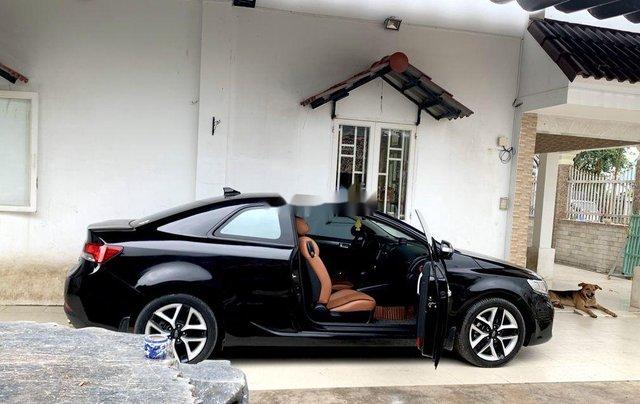 Bán xe Kia Cerato đời 2009, màu đen, nhập khẩu  2