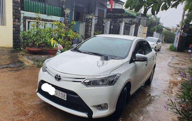Bán Toyota Vios sản xuất năm 2016, giá cạnh tranh0